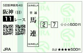 hanshinjf-quinella-2-7-2015